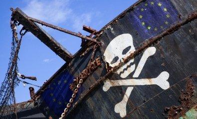 Un estudio sobre piratería de la Unión Europea