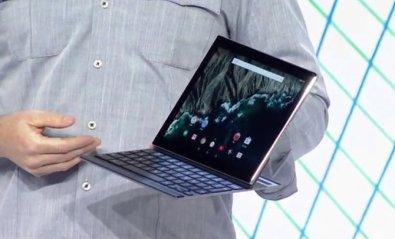 Pixel C, Google presenta su tablet profesional con teclado