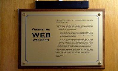 La primera página web nació en el CERN hace 25 años