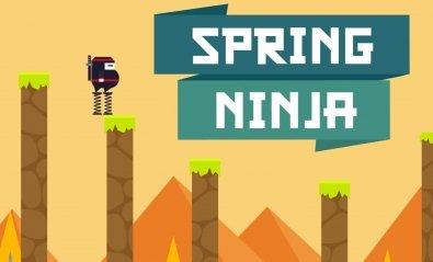 Spring Ninja: el adictivo juego del ninja fondón