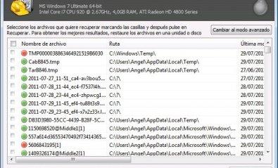 Software de recuperación Recuva 1.30.435