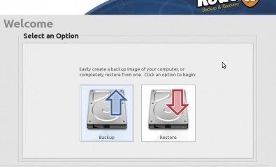 Aplicación de imagen de disco Redo Backup and Recovery 1.0