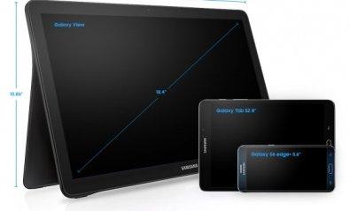 Llega Samsung Galaxy View, la megatableta de 18,4 pulgadas