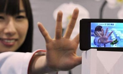 Sharp prepara un smartphone 3D para ver sin gafas