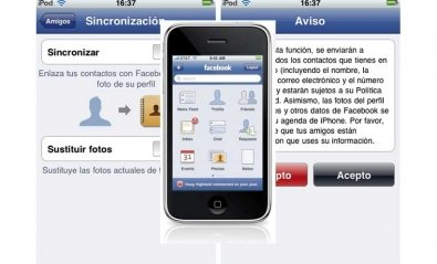 Sincroniza los contactos de Facebook con el iPhone