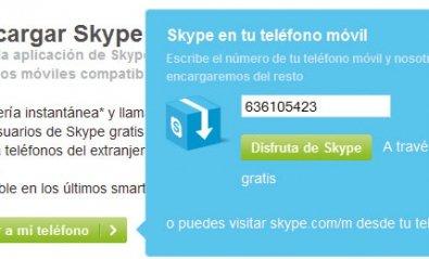 Utiliza Skype en tu smartphone