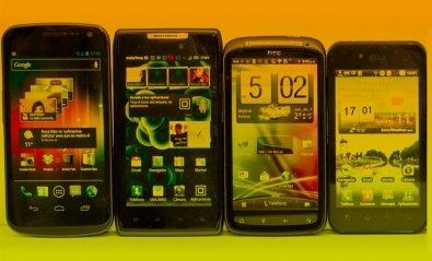 Probamos ocho teléfonos móviles de última generación