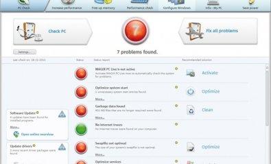 Magix PC Check & Tuning 2012, lo importante son los resultados