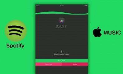 Traslada tus listas de Spotify a Apple Music con SongShift