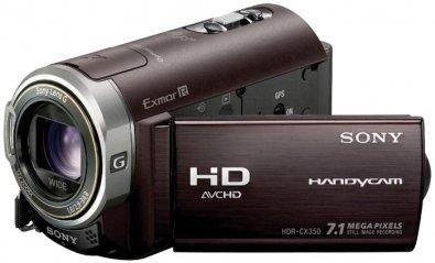 Videocámara HD compacta Sony Handycam HDR-CX350VE