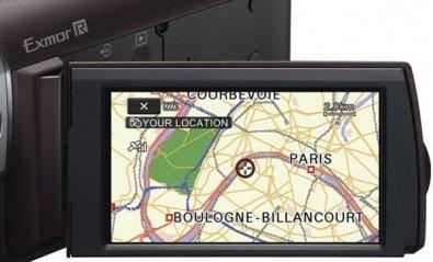 Videocámara con GPS Sony HDR-CX350VET