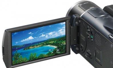 Videocámara Sony HDR-XR550VE con 240 Gbytes