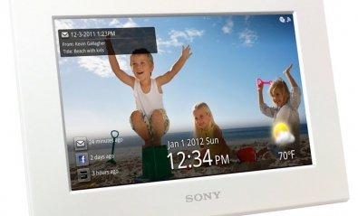 Sony presenta sus marcos de fotos digitales con WiFi