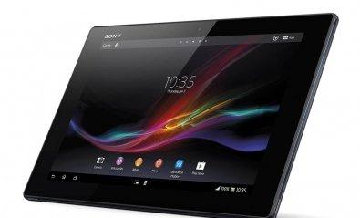 El estilizado Xperia Tablet Z de Sony llega a las tiendas
