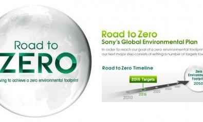 Sony alcanzará la huella ambiental cero en 2050