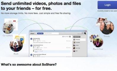 Los usuarios de Share podrán acceder a sus archivos en SoShare