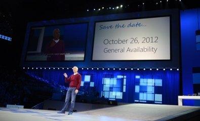 Windows 8 estará disponible el 26 de octubre