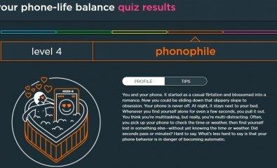 Un test para saber tu grado de adicción al móvil