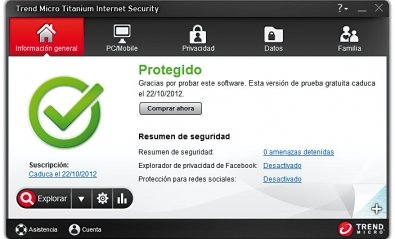 Titanium Internet Security 2013, una suite muy básica