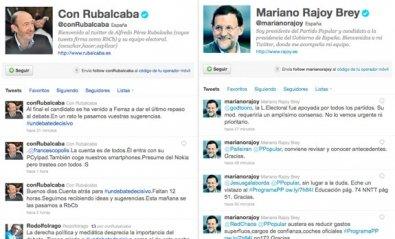 Los políticos españoles suspenden en Internet