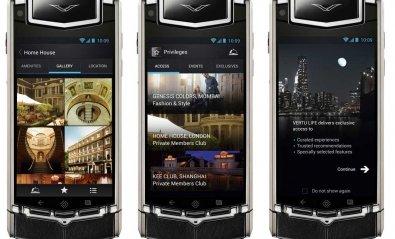 Vertu elige Android para gobernar su móvil de 7.900 euros