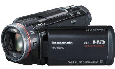 Videocámara con disco duro Panasonic HDC-HS900