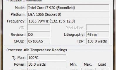 Vigila al detalle la temperatura de tu CPU