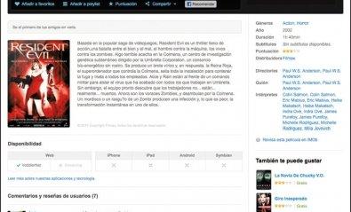 El videoclub on-line Voddler llega a España