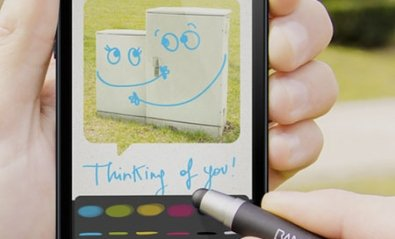 Tarjetas digitales desde el iPhone con Bamboo Loop