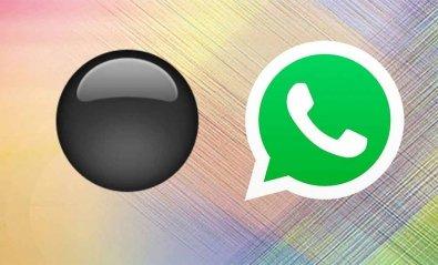 El círculo negro de WhatsApp: qué es y qué esconde