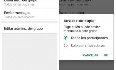 Cómo limitar los mensajes en los grupos de WhatsApp