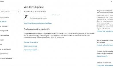 Prueba la nueva actualización de Windows 10