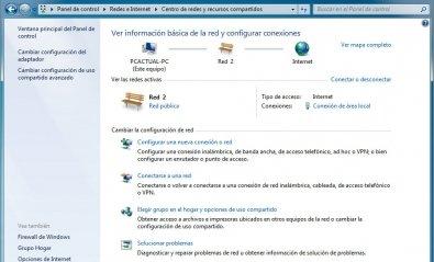 Administra redes en Windows 7 fácilmente