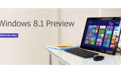 Microsoft anuncia la versión previa de Windows 8.1