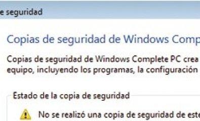 Windows Vista: Trucos para realizar backup