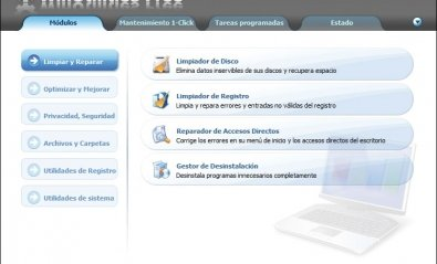 Software de optimización WinUtilities Free 9.4