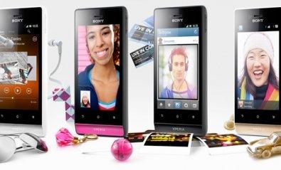 Sony lanza dos nuevos smartphones de la familia Xperia