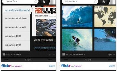 Yahoo! lanza Axis, un navegador visual para iPhone e iPad