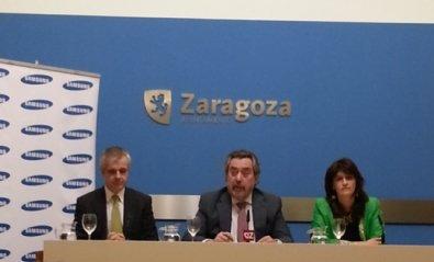 Zaragoza prueba tecnología NFC real junto a Samsung