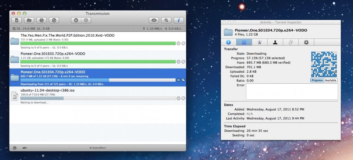 Transmission para Mac