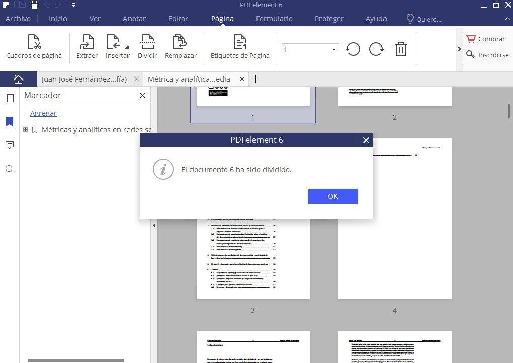 Tras la compresión del PDF sólo hay que guardar el archivo