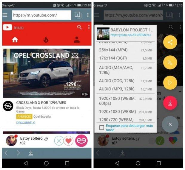 Las 4 Mejores Apps Para Descargar Videos De Youtube En Android Gratis