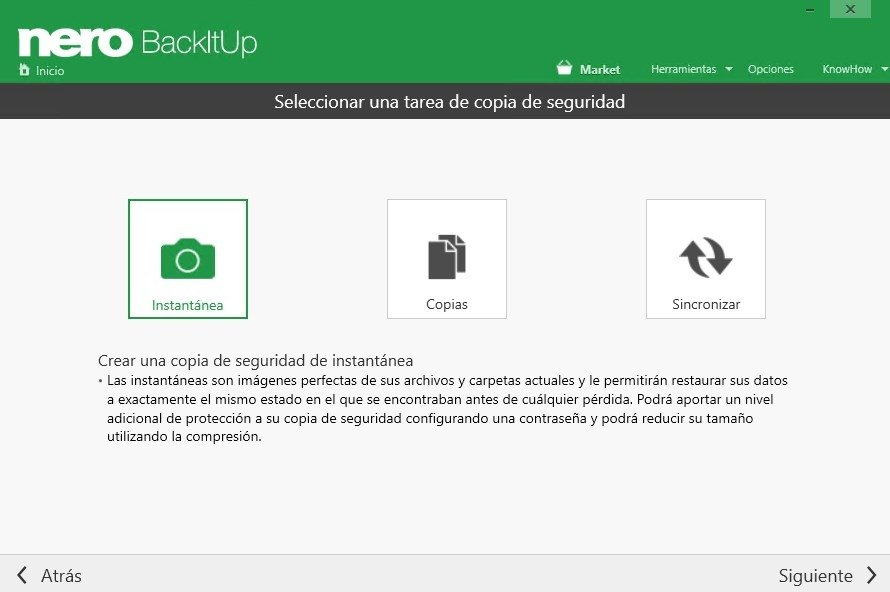 Tus copias de seguridad con Nero BackitUp