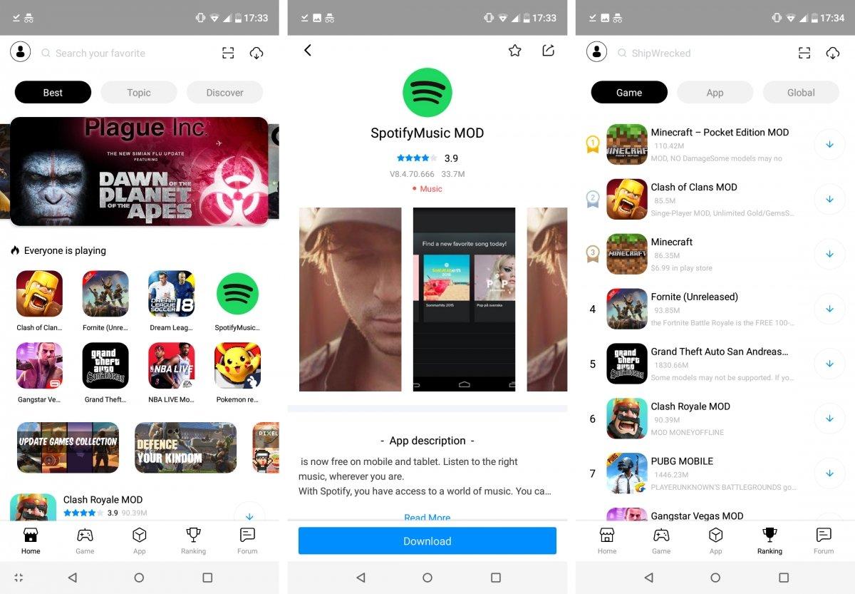 TuTuApp es de las mejores alternativas a TweakBox en Android