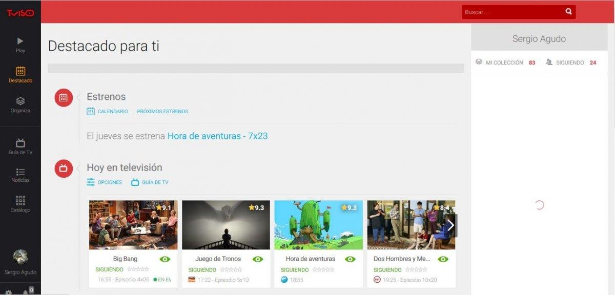 TVISO es la reencarnación de Series.ly en una red social
