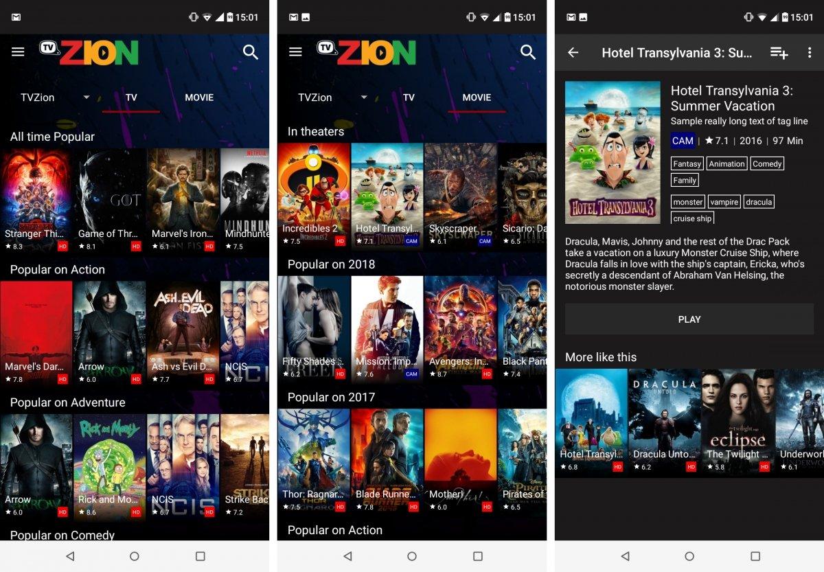 TVZion tiene series y pelis para aburrir