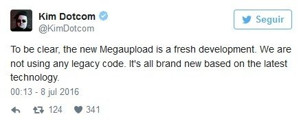 Tweet de Kim Dot Com