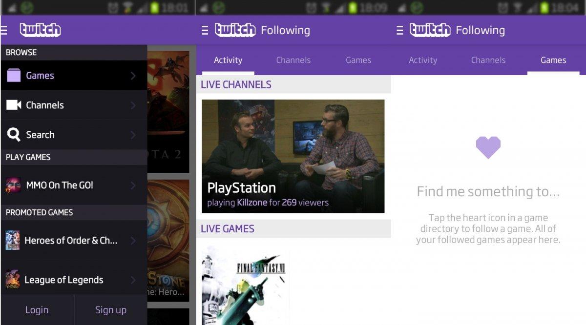 Twitch móvil ya permite seguir juegos en Android e iOS - imagen 2