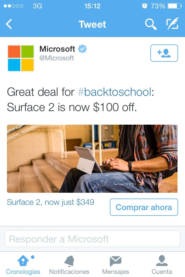 Twitter lanza de forma oficial su botón para comprar - imagen 2