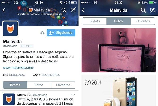 Twitter para iPhone se actualiza con un perfil rediseñado - imagen 2